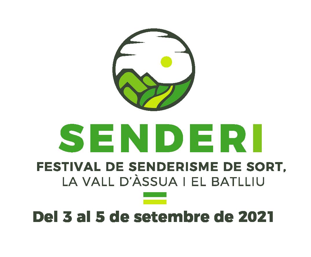 Logo Senderi, Festival de Senderisme de Sort, la Vall d'Àssua i el Batlliu